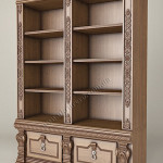 03.книжный шкаф в кабинет