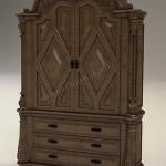 12.Шкаф деревянный