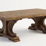 2.Стол деревянный Агата