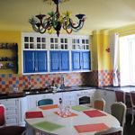 27.Кухня с деревянными фасадами