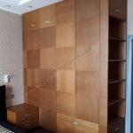 Шкаф из мдф покрытый шпоном