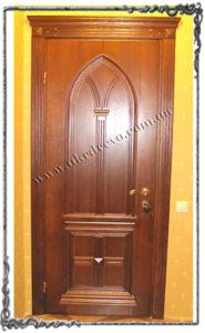 Derevyannaya dver Karolina