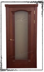 Derevyannaya dver Milana
